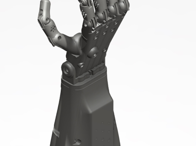 Full Right Hand (3d printed parts only) 3d printed