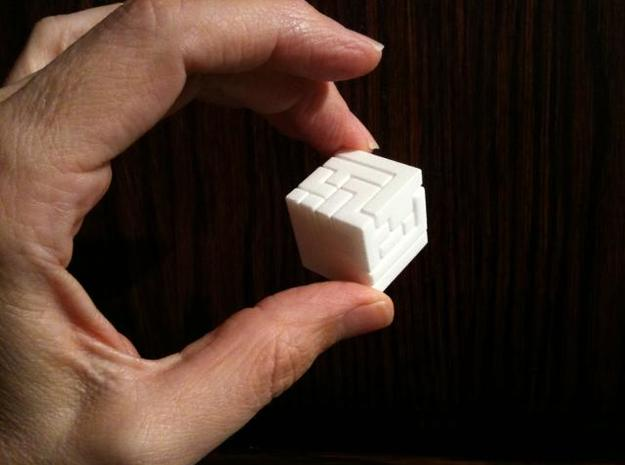 Switch Cube (2.4 cm) 3d printed 2.4 cm Switch Cube fingertips