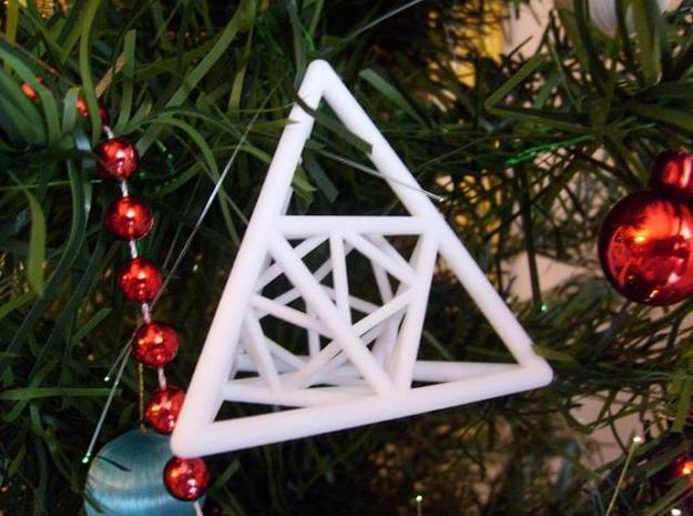Inclusions 3d printed Picture on the Christmas Tree