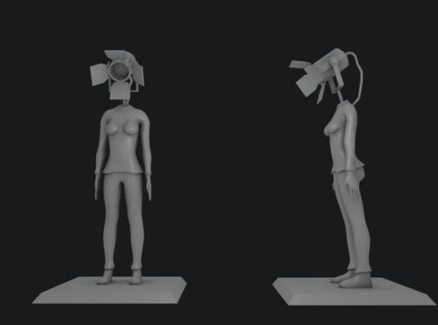 Seen the Light 3d printed Rendered image of model