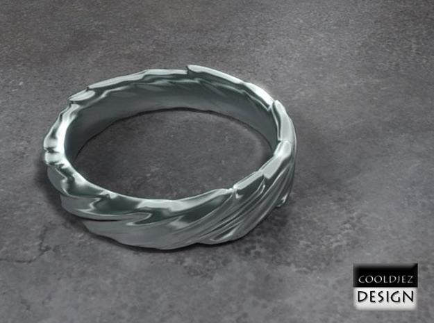 Ring - Organic Twist 3d printed Render