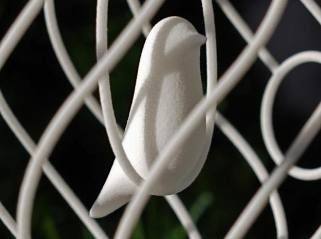 merry bird - christmas ornament 3d printed Merry Bird close up