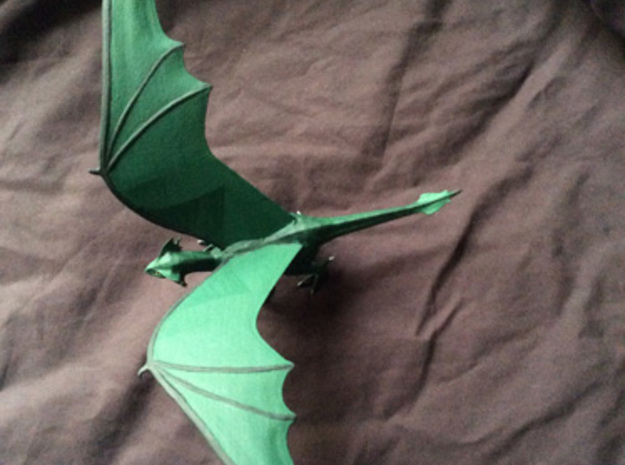 Dragon Green 3d printed a painted example of this miniature