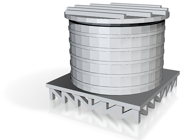 Storage Tank- Zscale 3d printed