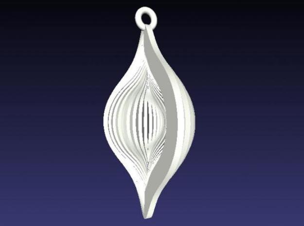 Shell Ornament 2 3d printed