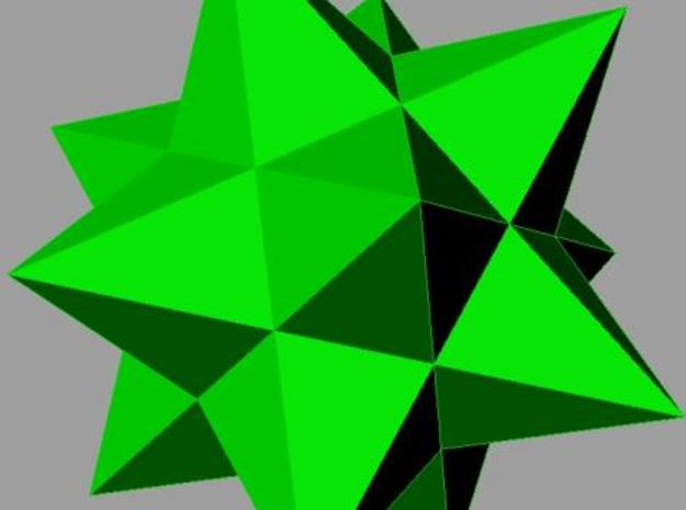 Small stellated dodecahedron (small) 3d printed Render