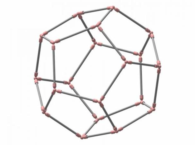 Dodecahedron 3d printed Description