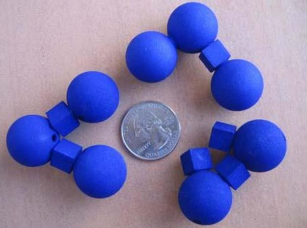 Kuball Puzzle 3d printed Puzzle pieces.