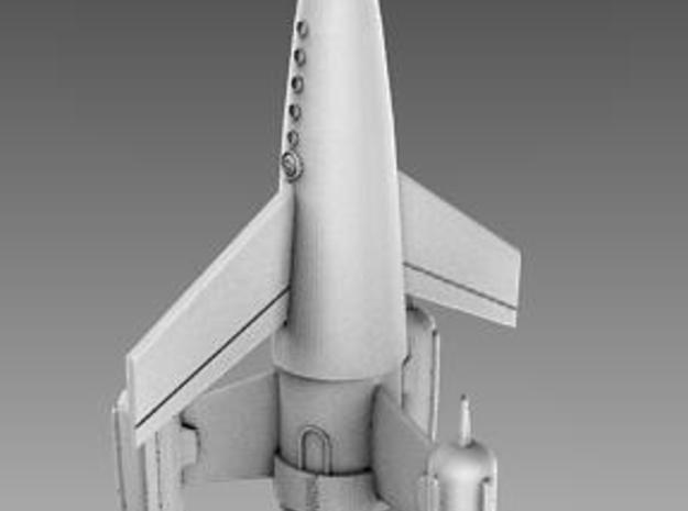 "R-Rocket ""Earth""-Class Small 3d printed Description"