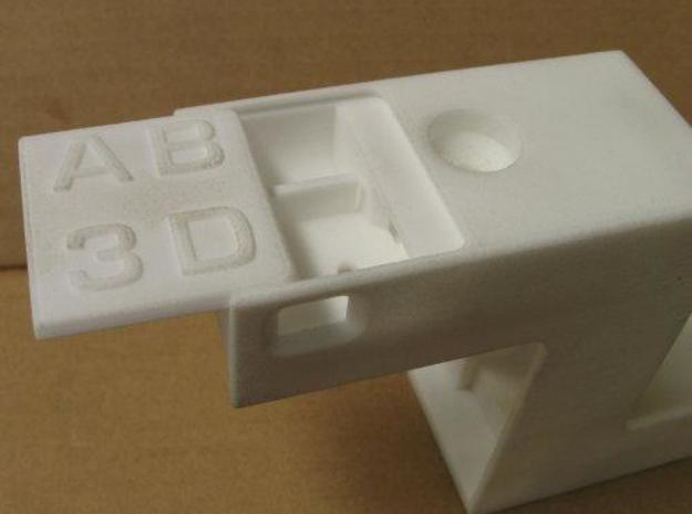 Z-Bracket Kit 2 3d printed The dovetail sliding cover for the battery and switch compartment fitted perfectly