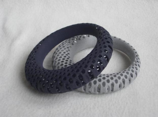 Polyoptic Bangle 3d printed both