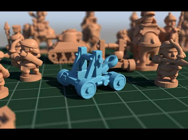 catapult pawn 3d printed catapult pawn