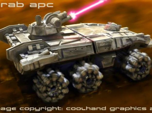 Scarab APC 3d printed Description