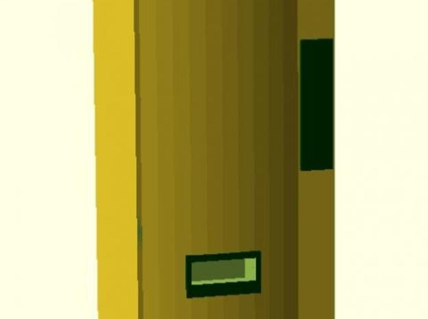 Modern Soda Machine - Z scale 3d printed Front View