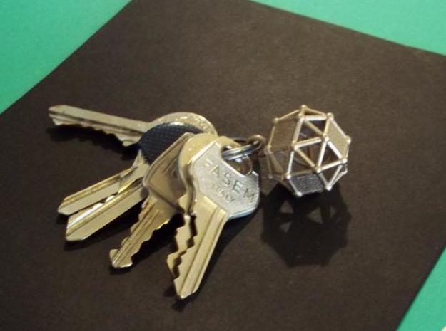 Simus keyholder 3d printed Steel print - Photo 2