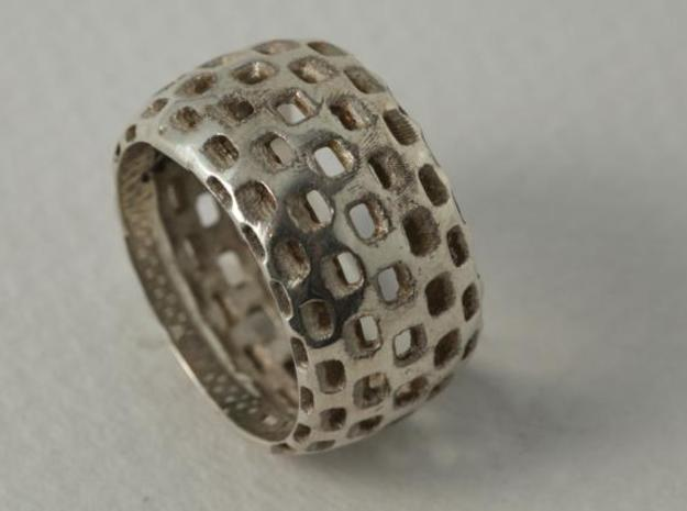 square s44 3d printed silver