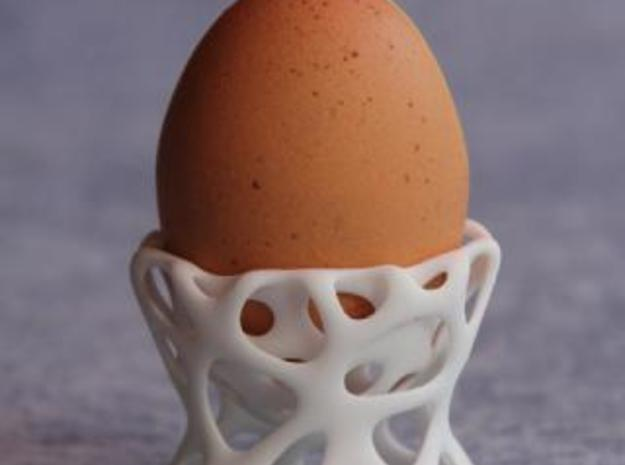 Eierbecher 3d printed fitting the hen's egg perfectly