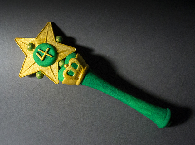 Jupiter Star Wand 3d printed