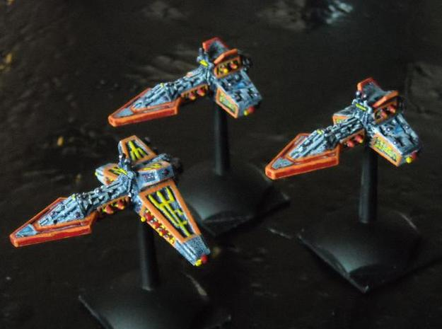 VA200A Light Cruiser Squadron Pack 3d printed Painted model