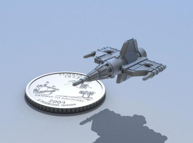 Alliance Pursuit Frigate 29mm 3d printed Shown with awesome Florida quarter