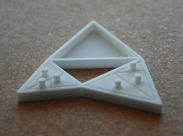 The Triangles of Pythagoras Puzzle 3d printed small triangles assembled photo