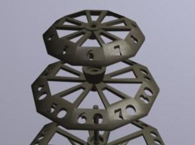 ''d1000 Spinner'' Limited Collectors Edition 3d printed d1000 UP