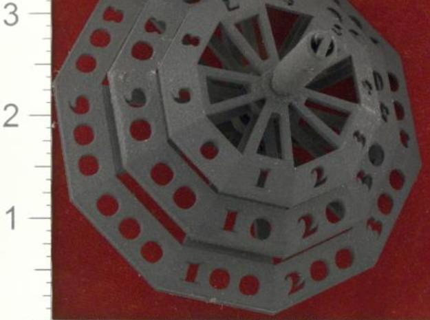 ''d1000 Spinner'' Limited Collectors Edition 3d printed BSF print