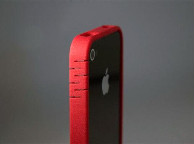 iphone4 bumper MG02 3d printed Description