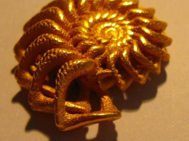 Winglink from the Ammonite Range by unellenu 3d printed view 3