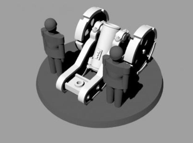 W4K10 MK4 Gun Kit 3d printed Mortar Rear