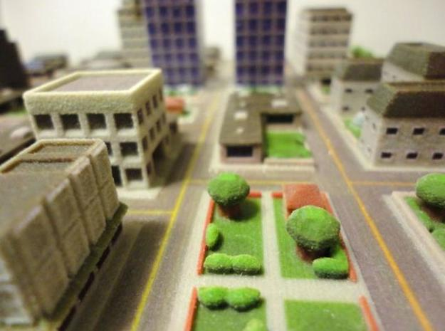 Mini City 3d printed
