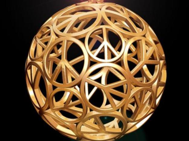 Peace Ball 3d printed Fig. L