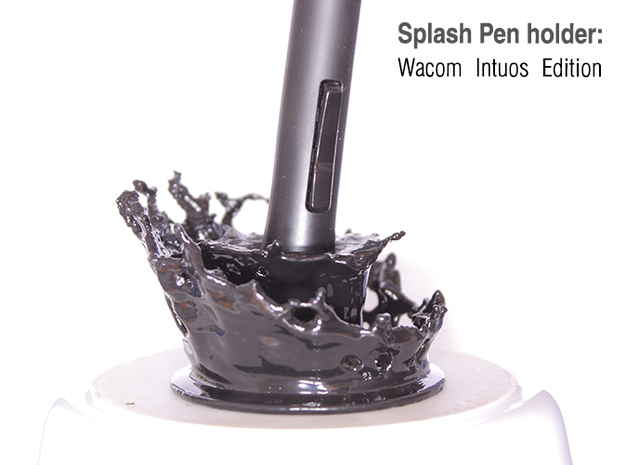 Splash Pen Holder: Wacom Intuos Edition
