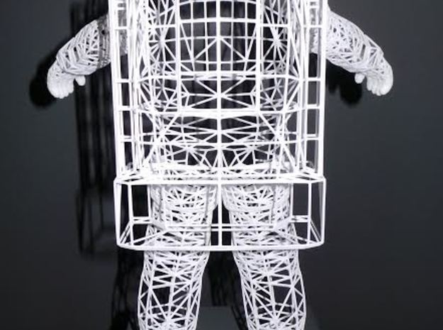 Astronaut Wireframe - 300mm 3d printed