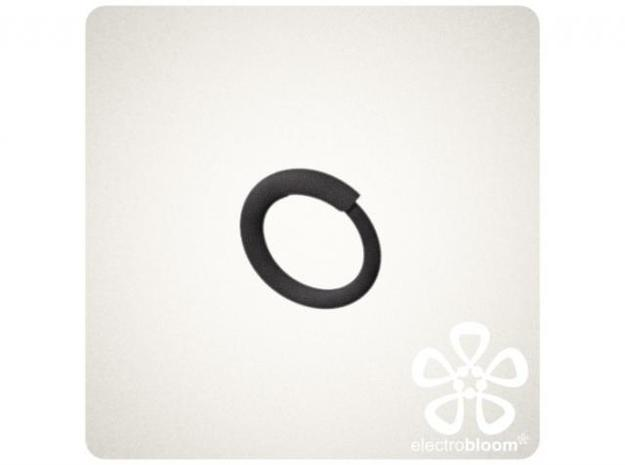 Snap ring. Size 17.5mm 3d printed Snap ring size 17 5