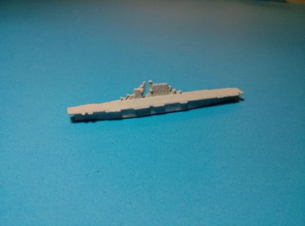 USS Saratoga CV-3 1943 1/4500 3d printed Painted in light grey base coat. Model sold unpainted.