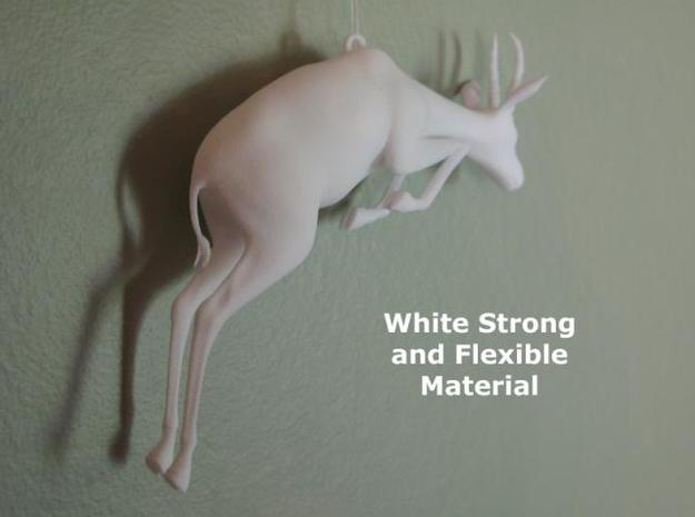"4"" Gazelle Hanging Ornament 3d printed Description"