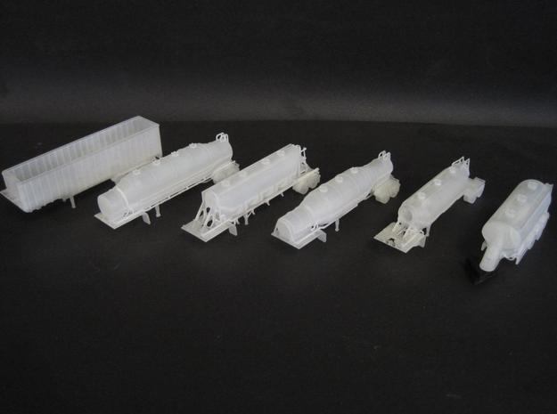 N scale 1/160 Dry Bulk 1040 Superjet Trailer 11 3d printed Another photo of my N-scale trailers.