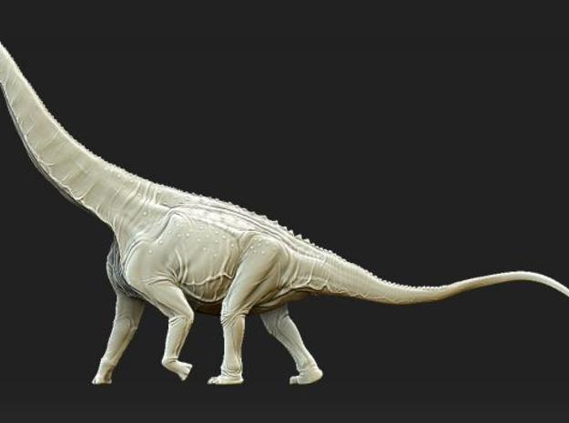 Alamosaurus Krentz 3d printed Description