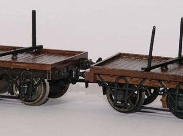 1:87 FSJ/SVR open wagon type I (chassis) 3d printed 1:87