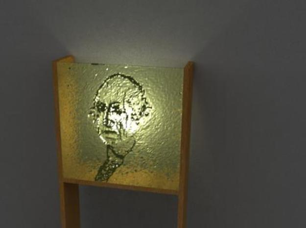 Wall Lamp 3d printed Washington Light on Render