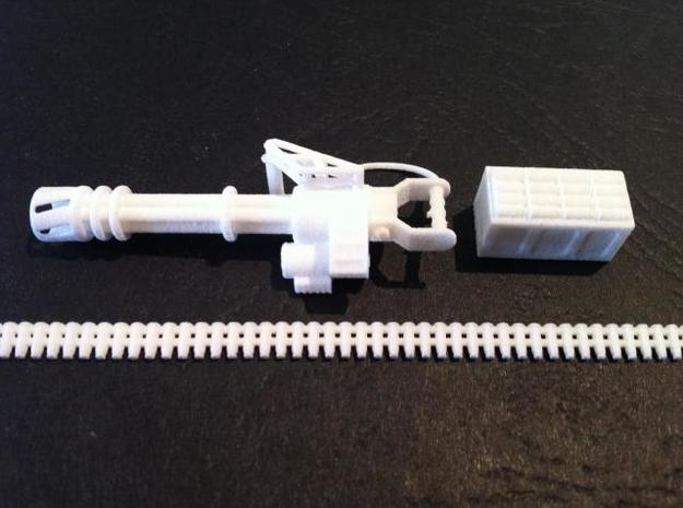 Barrage MG 3d printed Description