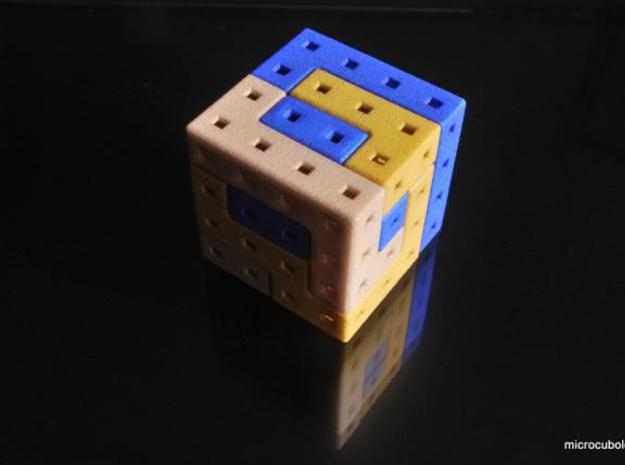 Angle-C 3d printed Cube solved