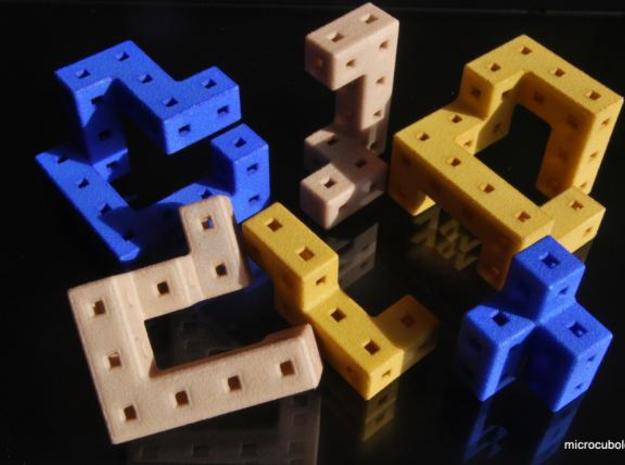 Angle-C 3d printed Cube pieces
