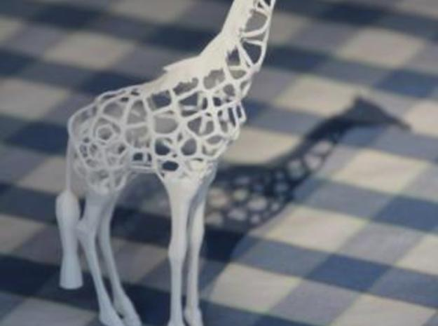 Voronaffe: Voronoi Giraffe with spheres inside