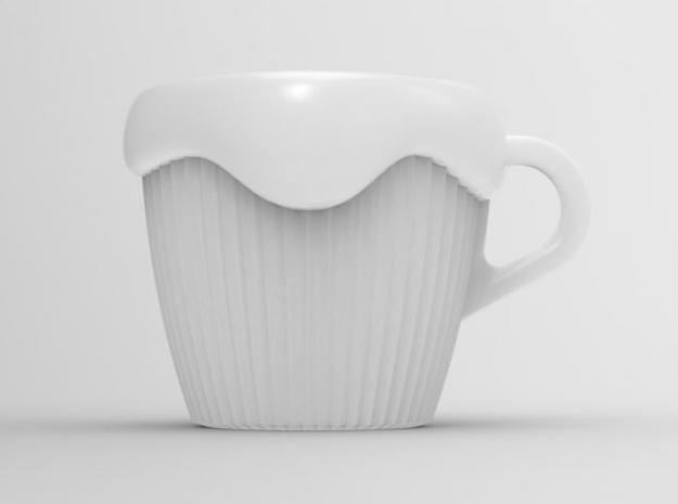 one cup a day   Day 08: CupCake Cup 3d printed front