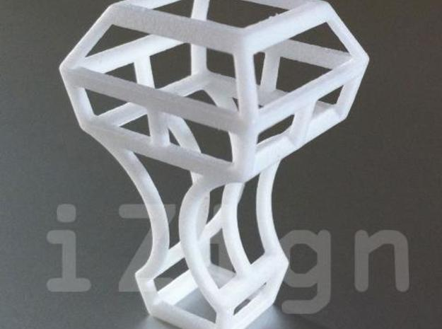 cling 05 3d printed White Strong & Flexible