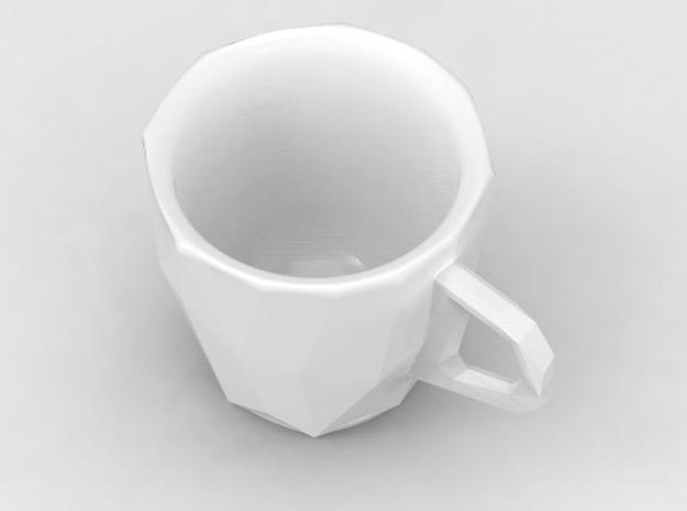 one cup a day | Day 09: Low Resolution Coffee Cup 3d printed view