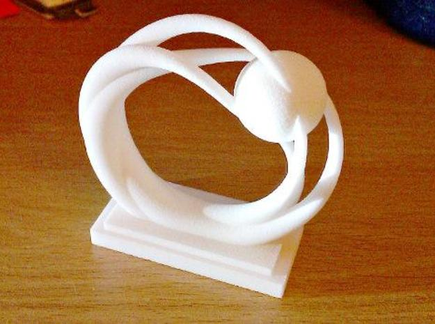 Ring Statue 3d printed Printed object
