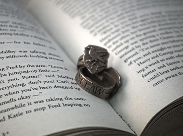 Ravenclaw Ring Size 7 3d printed Ravenclaw Ring
